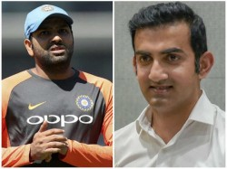 Former Opener Gautam Gamghir Says About Rohit S Future In Test Cricket