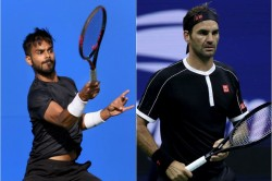 Sumit Nagal Us Open Against Roger Federer