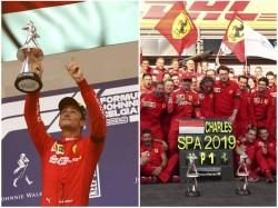 Belgian Grand Prix Charles Leclerc Win
