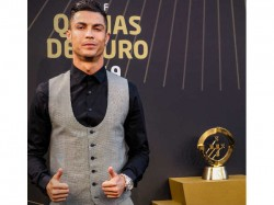 Cristiano Ronald Wins Record 10th Portugese Player Of The Year Award