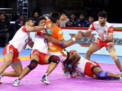 Pro Kabaddi 2019 Telugu Titans And Haryana Steelers
