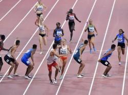 World Athletics Championships India Mixed Relay Team Finish Seventh