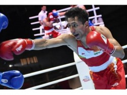 India S Kavinder Sanjeet In World Boxing Championship Pre Quarter