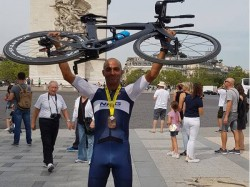Enduroman Triathlon Mayank Vaid Breaks World Record