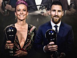 Lionel Messi Wins Fifia Player Of The Year Award For 6th Time