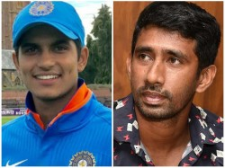 Shubman Gill And Saha To Share India A Team S Captaincy