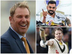 Kohli Or Smith Shane Warne Names The Best Batsman In The World