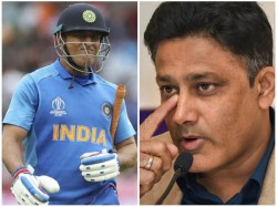 Anil Kumble Wants Proper Send Off For Ms Dhoni