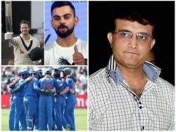 Former Captain Ganguly About Virat Kohli Steve Smith Comparison