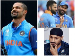 Dhawan S Contribution As Important As Kohli Says Harbhajan
