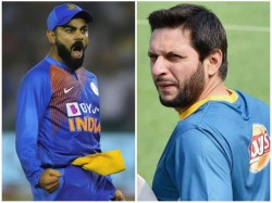 Former Pakistan Captain Afridi Reacts To Icc Tweet About Kohli
