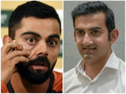 Dhoni And Rohit Behind Kohli S Captaincy Success Says Gambhir