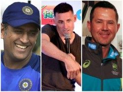 Michael Hussey Picks Ponting Ahead Of Dhoni As Best Odi Captain