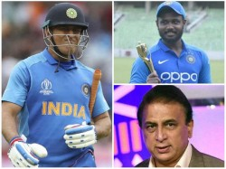 Ms Dhoni Not In My Indian Team For T20 World Cup 2020 Says Gavasakar