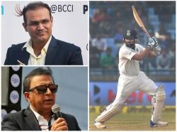 Rohit Sharma Can Replicate Virender Sehwag In Test Cricket Says Gavaskar