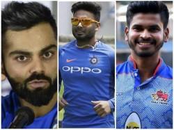 Indian Captain Kohli Admits Miscommunication In Pant Shreyas Batting Order