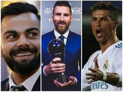 Ronaldo Or Messi Indian Captain Kohli Picks His Favourite