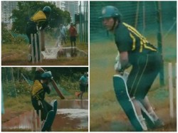 Indian Batting Legend Sachin Shares Video Of Practise On Water Logged Surface