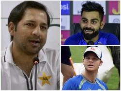 Pakistan Sensation Babar Might Catch Up Kohli And Smith Says Sarfraz