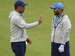 Dhoni Out To Give Bcci Time To Prepare Pant And His Back For T20 World Cup