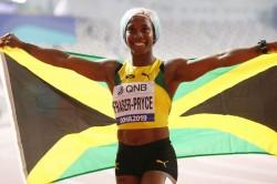 World Athletics Championships Shelly Ann Fraser