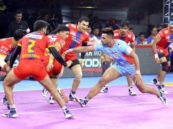 Pro Kabaddi Bengaluru Bulls And Up Yoddha Wins