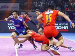 Pro Kabaddi League Gujrat Fortune Giants And Up Yoddha Wins