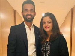 Indian Test Team Vice Captain Rahane Blessed With Baby Girl