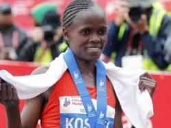 Kenya S Kosgei Breaks World Record At Marathon