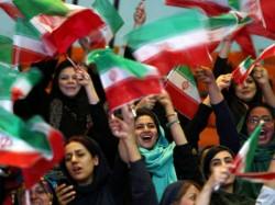 Women Attend Iran S Match For First Time In 40 Years