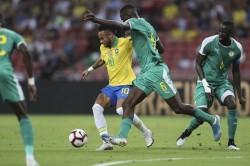 Friendly International Football Brazil Senegal