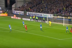 Bundesliga Ii Substitute Player Gives Away Penalty While Warming Up