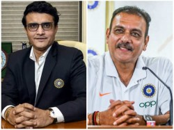 Indian Coach Shastri S First Reaction After Ganguly Takes Over Bcci President