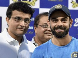 Bcci President Ganguly Thanks Kohli For Agreeing To Day Night Test