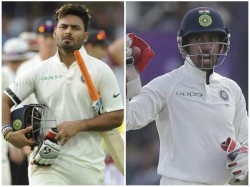 Young Wicket Keeper Rishabh Pant Dropped From Indian Team For First Test