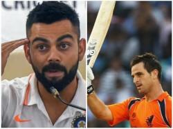 Netherlands Player Apologises For Beating Kohli And Babar