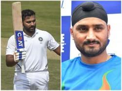 Indian Opener Rohit Cheekily Invites Harbhajan To Bowl On Vizag Pitch
