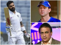 Indian Captain Virat Kohli Equals With Former Australian Captain Ponting