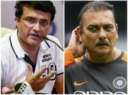 Ganguly S Response To Question About Current Indian Coach Ravi Shastri
