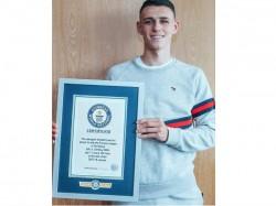 Manchester City Player Phil Phoden Enter Guinnes World Records