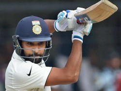 Indian Opener Rohit Sharma Completes Hattrick With Most Sixes In A Test