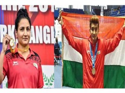 Olympic Test Event For Boxing Shiva Thapa Pooja Rani Win Gold