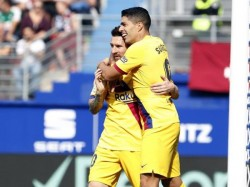 La Liga Barcelona Beat Eibar