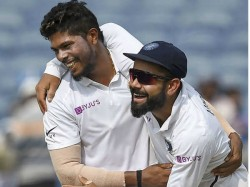 Pacer Umesh Yadav Credicts Saha For His Fine Display In Pune Test