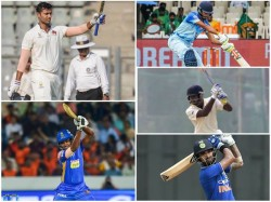 Five Cricketers Who Took Vijay Hazare Trophy By Storm