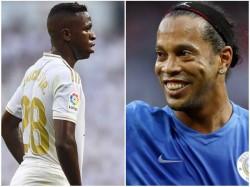 He Will Soon Be Among The Best Ronaldinho Praises Vinicius