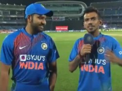No Need For Huge Body To Hit Sixes Rohit Sharma Says Chahal