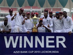 West Indies Beats Afganistan In Only Test Match