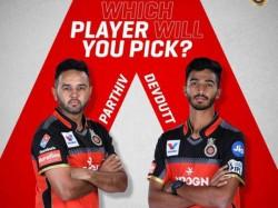 Wicket Keeper Parthiv Patel Trolls Royal Challengers Bangalore