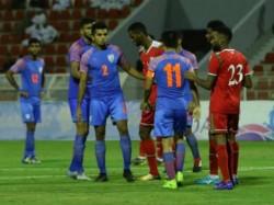 India Oman Fifa World Cup Qualifier Second Leg Match